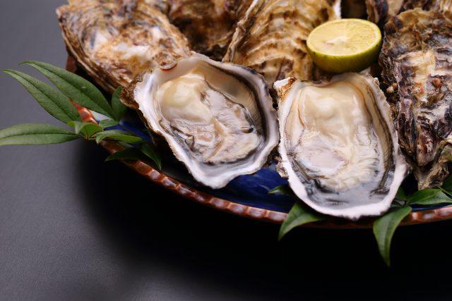 牡蠣(亜鉛が豊富な食材)