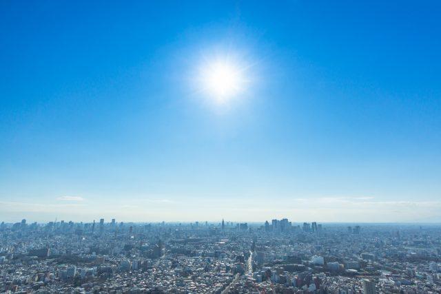 大都会の紫外線