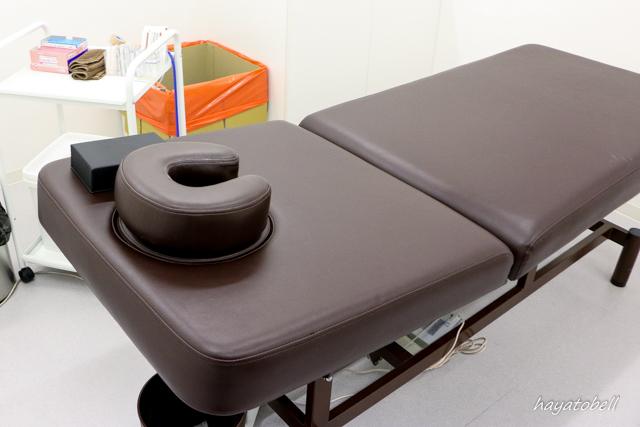 Dr'sメソ 施術室のベッド