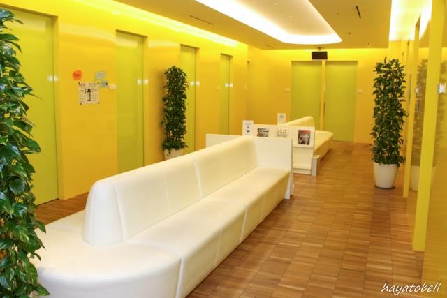 ヘアメディカル(メンズヘルスクリニック東京)待合室
