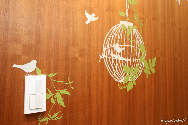 ヘアメディカル(メンズヘルスクリニック東京)カウンセリングルームの壁絵
