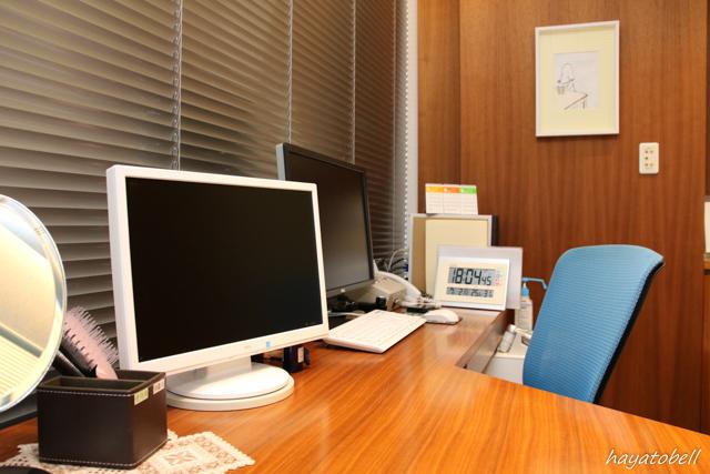 ヘアメディカル(メンズヘルスクリニック東京)院長室