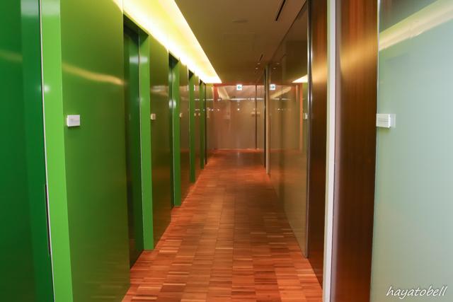 ヘアメディカル(メンズヘルスクリニック東京)診察室カウンセリングルームの廊下